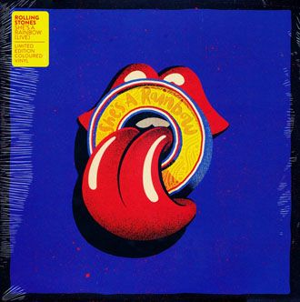 """The Rolling Stones - She's A Rainbow - 10"""""""