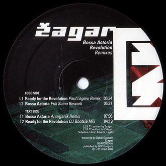 "Zagar - Bossa Astoria Revolution Remixes - 12"""