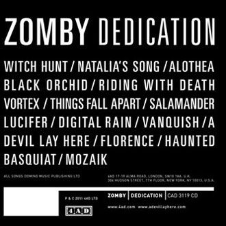 Zomby - Dedication - CD