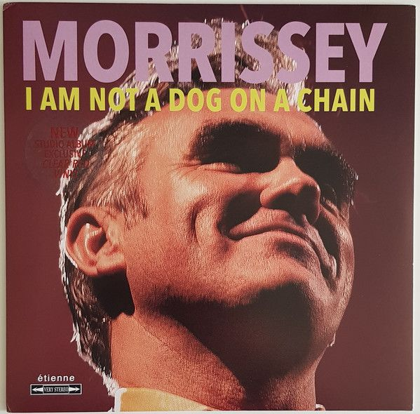 Morrissey - I Am Not A Dog On A Chain - LP Lim.