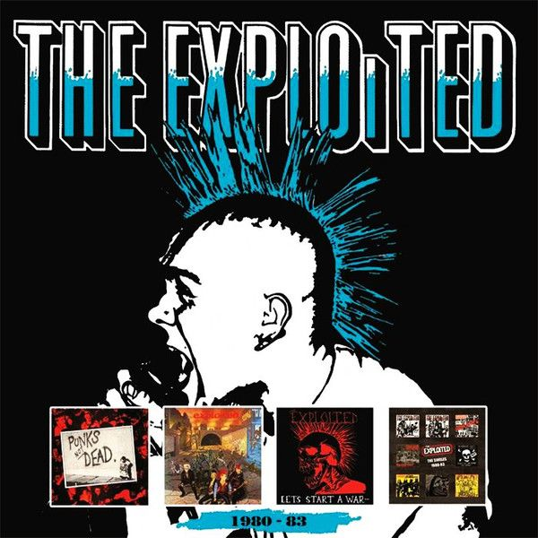 The Exploited - 1980-83 - 4CD