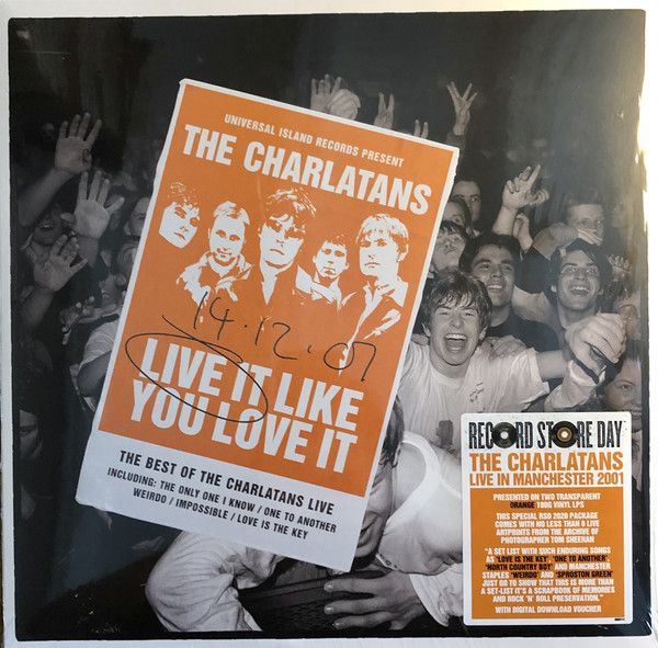 The Charlatans - Live It Like You Love It - 2LP