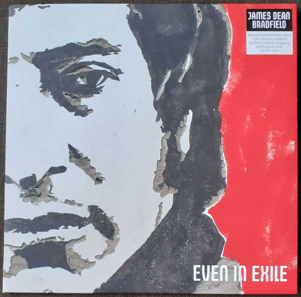 James Dean Bradfield - Even In Exile - LP