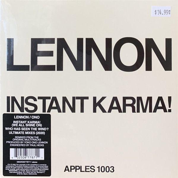 "John Lennon & Plastic Ono Band - Instant Karma - 7"""