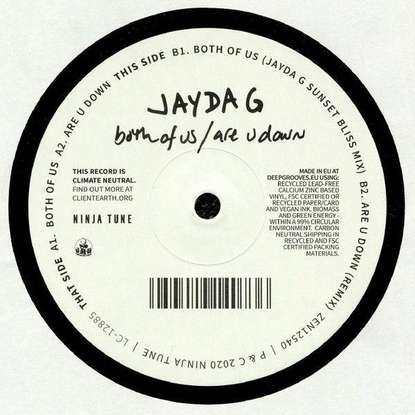 """Jayda G - Both Of Us - 12"""""""