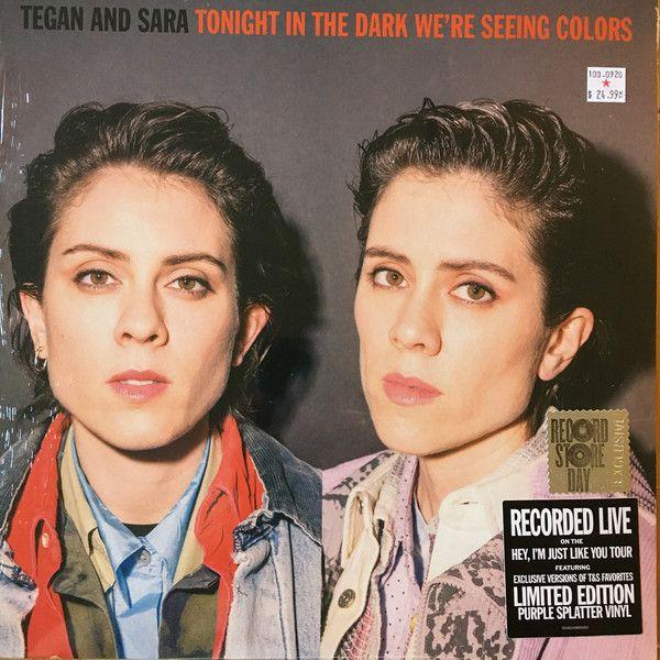 Tegan & Sara - Tonight In The Dark We're Seeing Colors - LP
