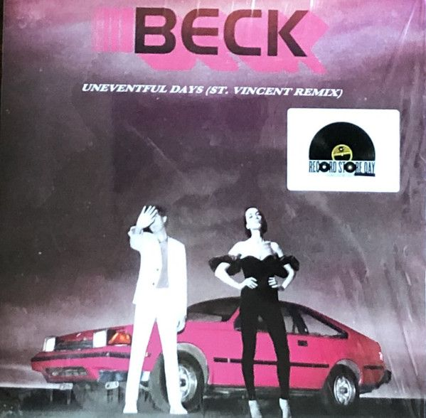"Beck - Uneventful Days (St. Vincent Remix) - 7"""