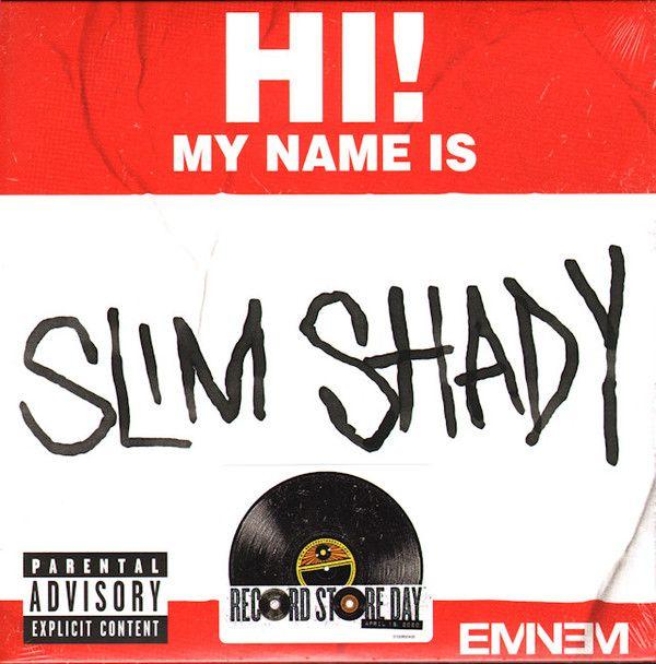 "Eminem - My Name Is - 7"""