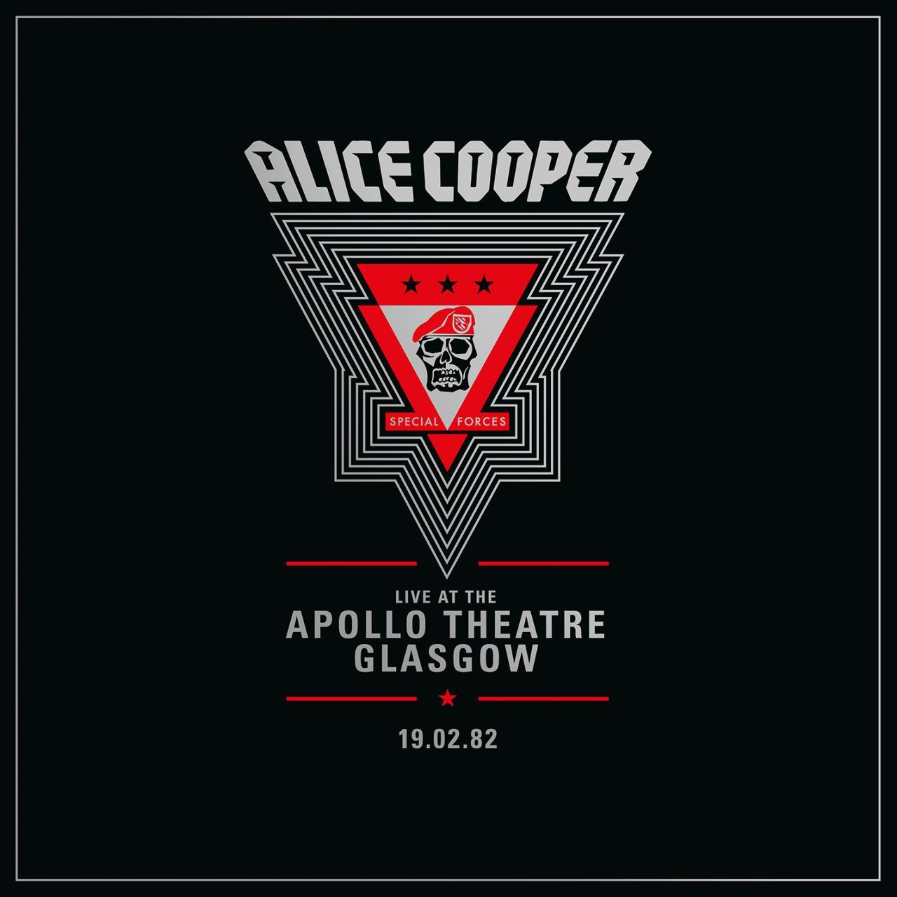Alice Cooper - Live At The Apollo Theatre, Glasgow // 19.02.82 - 2LP
