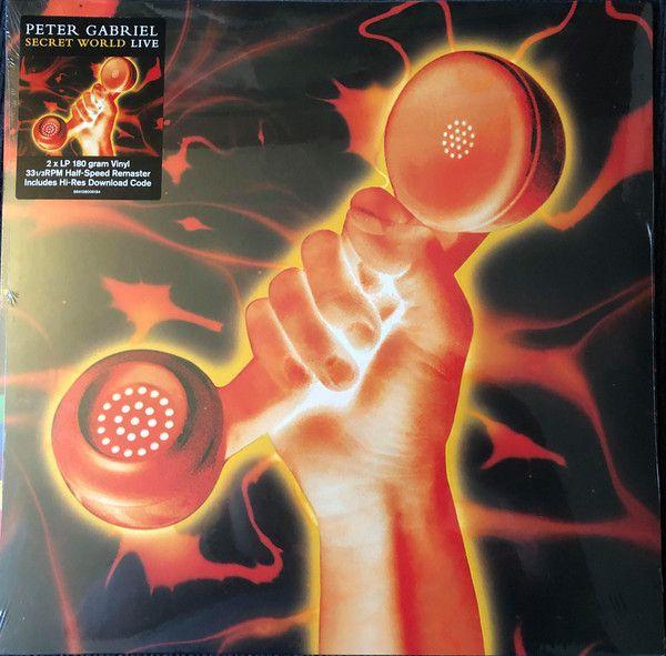 Peter Gabriel - Secret World Live - 2LP