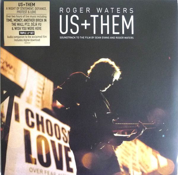 Roger Waters - Us + Them - 3LP