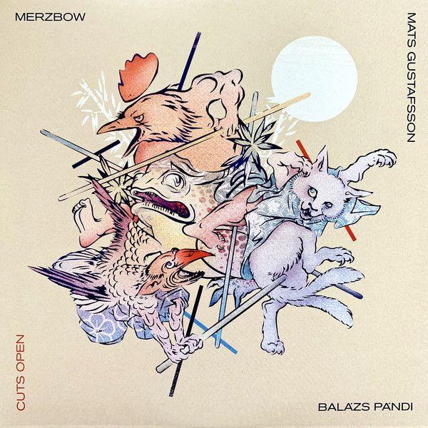 Merzbow & Mats Gustafsson & Pándi Balázs - Cuts Open - 2CD