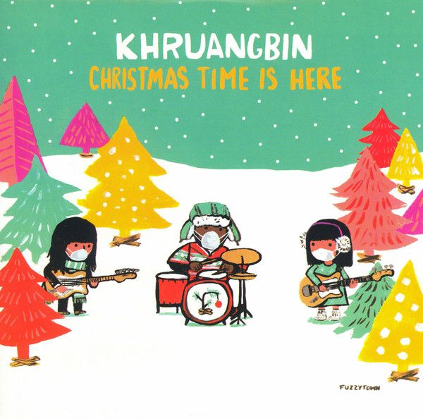 "Khruangbin - Christmas Time Is Here - 7"""