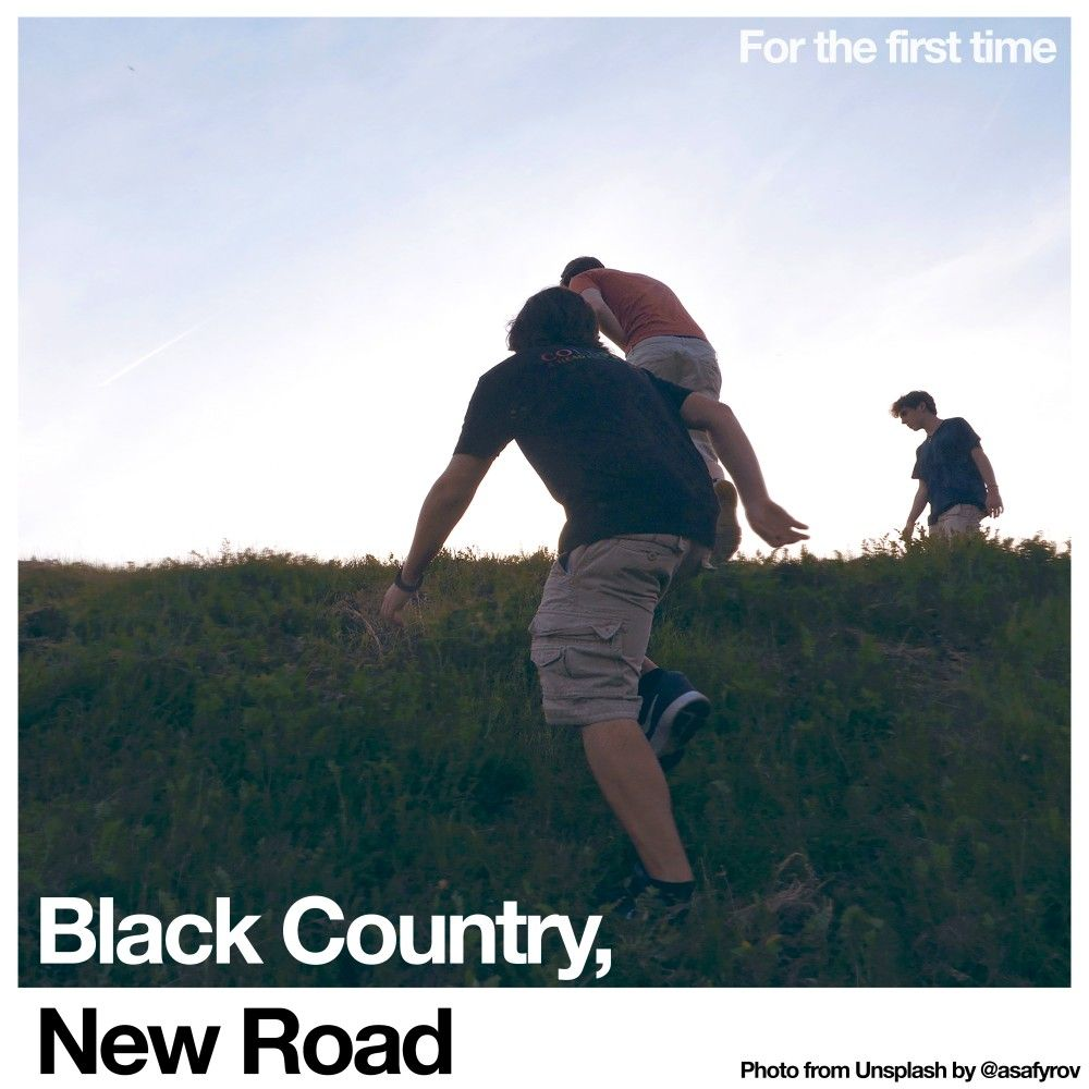 Black Country, New Road - For The First Time - CD