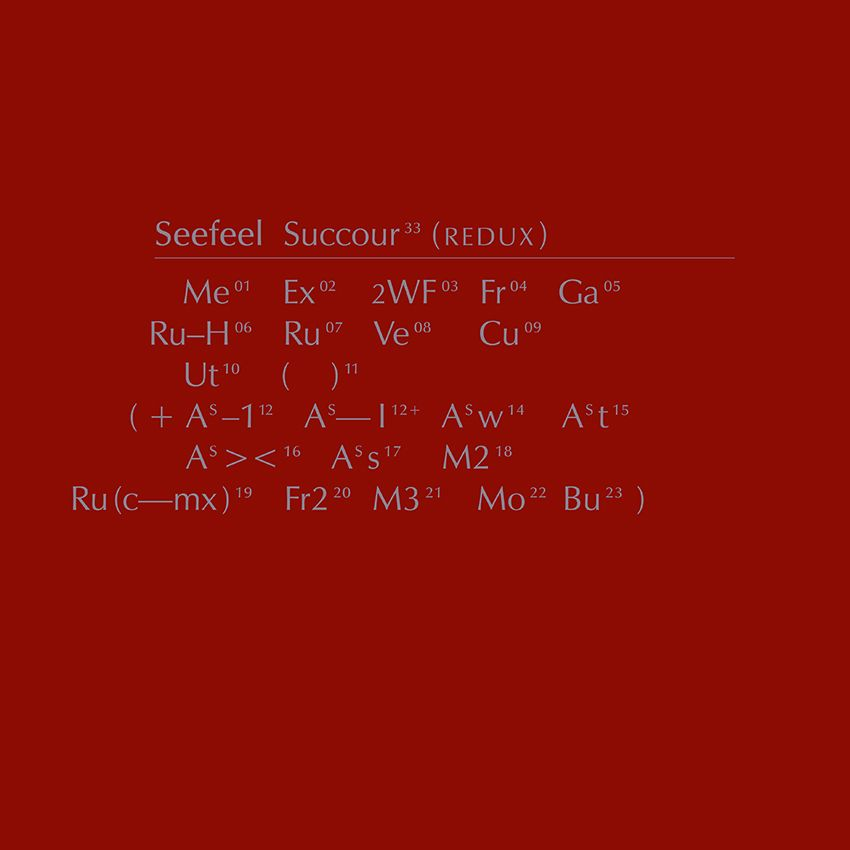 Seefeel - Succour (Redux) - 3LP