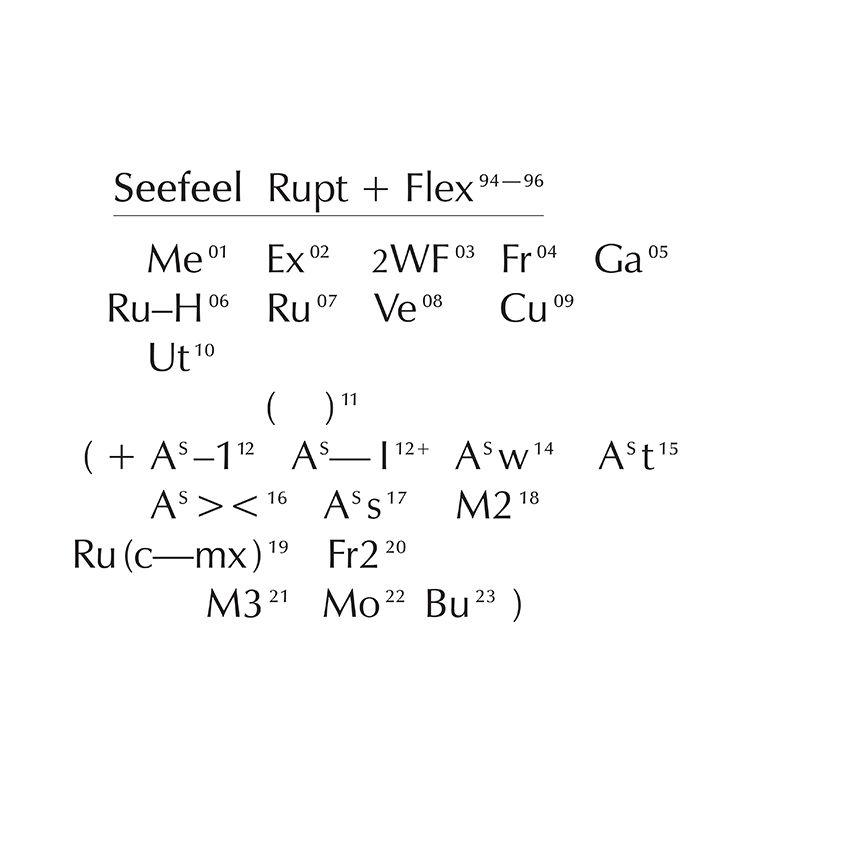 Seefeel - Rupt + Flex - 4CD